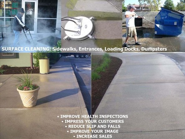 power washing features